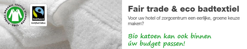 Fair trade & eco badtextiel