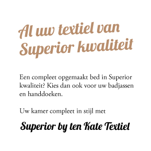 Superior textiel by Ten Kate Textiel