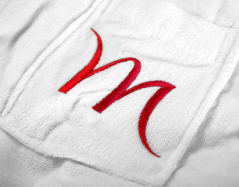 Textiel laten borduren